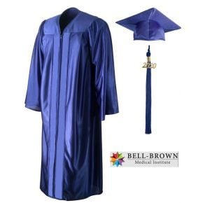 Bell-Brown Medical Institute - EKG Technician - Cap, Gown & Tassel