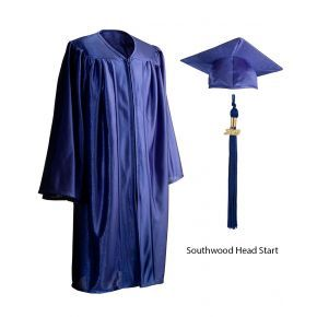 Southwood Head Start Royal Blue Cap, Gown & Tassel