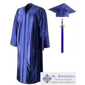 St. Alphonsus Catholic School Cap, Gown & Tassel
