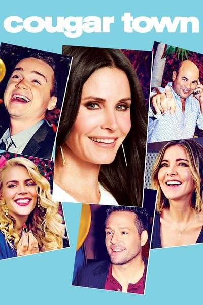 cast of cougar town