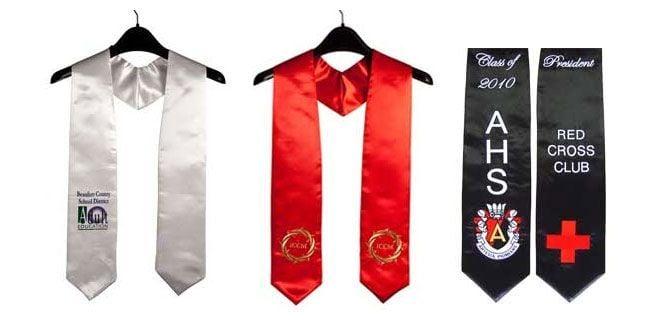 graduation sashes