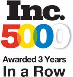 inc 5000 3 year award